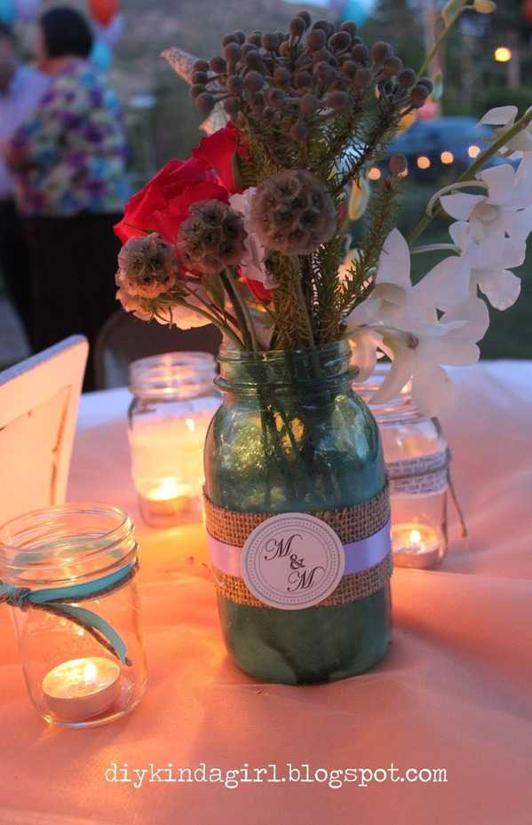 Wedding Mason Jars, 20 Ways to Use Mason Jars