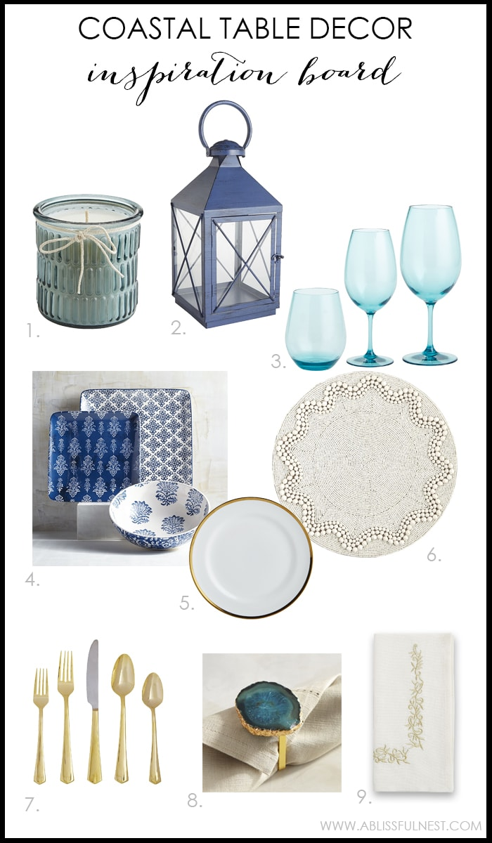 Coastal Table Decor Ideas For The Perfect Summer Party