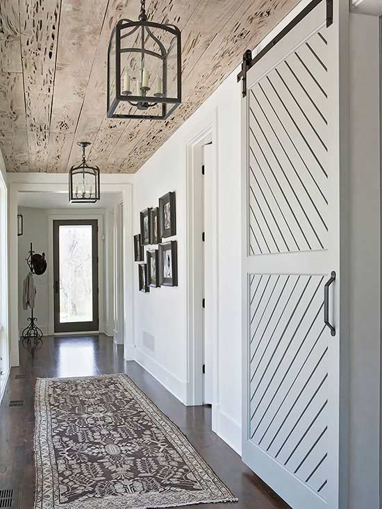 Rachel Halvorson, 20 Sliding Barn Door Ideas via A Blissful Nest