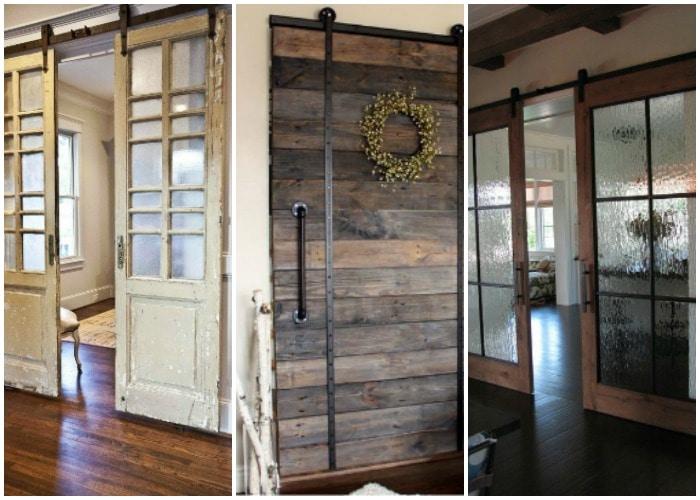 Sliding Barn Door Ideas to Get The Fixer Upper Look