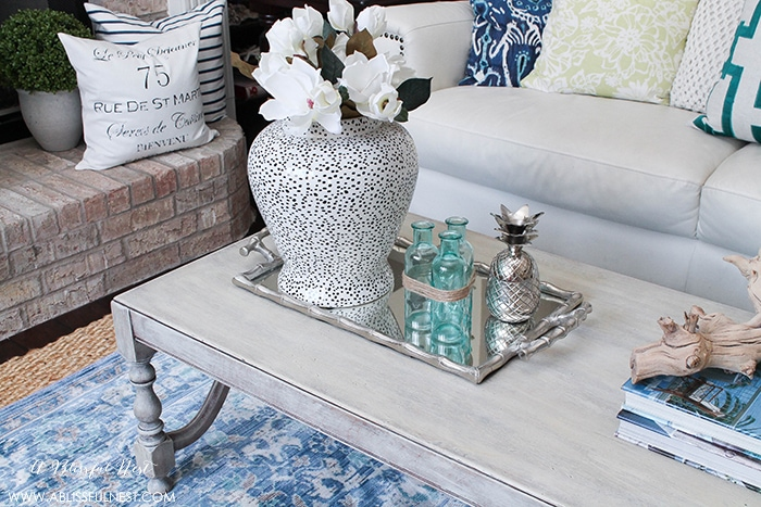A rustic weathered wood finish is easy to achieve. Try this step-by-step tutorial to upgrade any furniture you'd like.