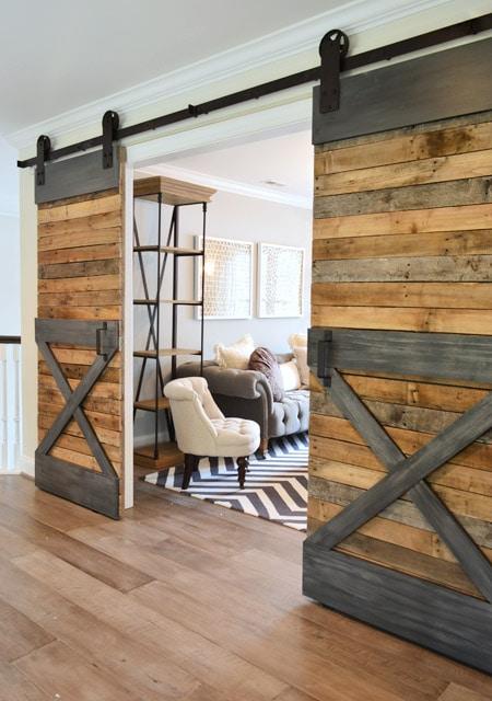Young House Love, 20 Sliding Barn Door Ideas