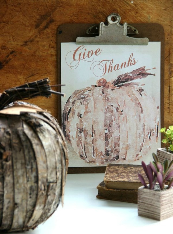 Give Thanks Eclectically Vintage, 30 Free Fall Printables