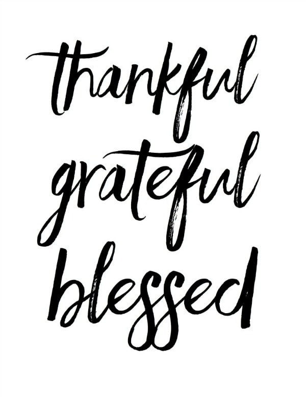 Thankful Grateful Blessed Raquel Dorsey, 30 Free Fall Printables