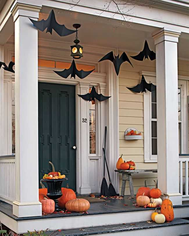 martha stewart 20 fabulously spooky halloween front porches