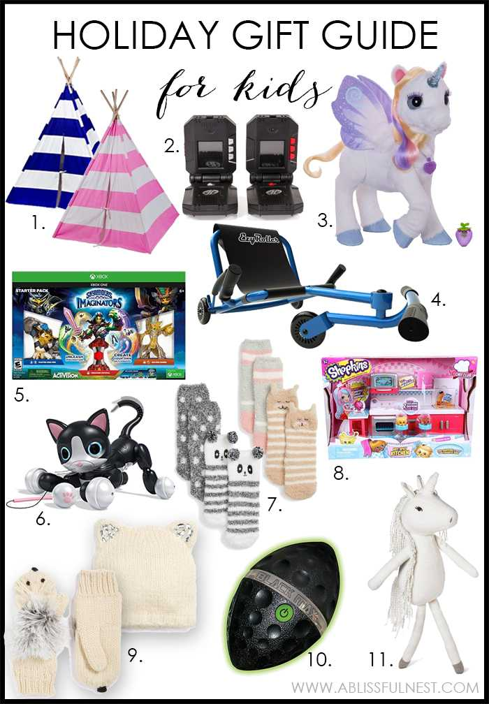 The BEST gift guide by the top Home Bloggers! See more on https://ablissfulnest.com/ #holidaygiftguide #giftguide