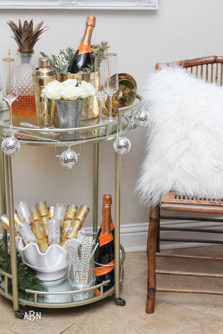 New Years Eve Essentials Tips For The Best NYE Bar Cart