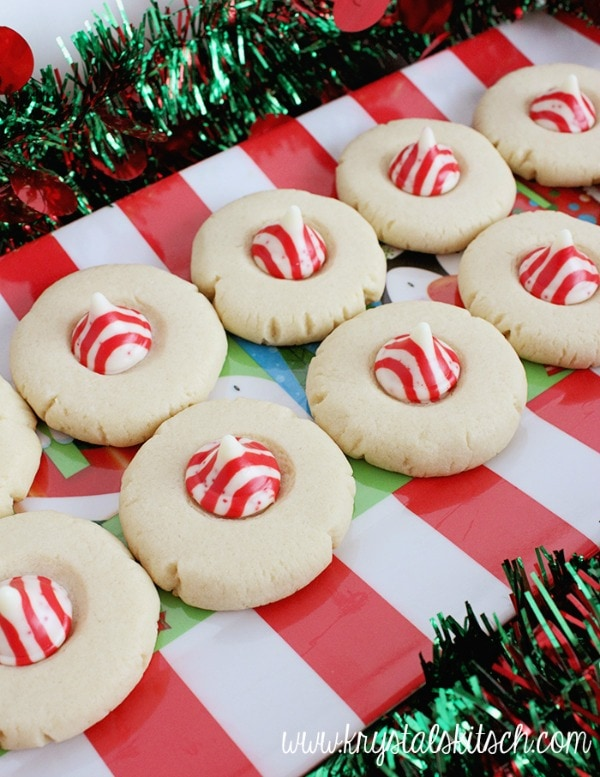 Peppermint Sugar Cookies, 30 Delicious Christmas Cookie Recipes via A Blissful Nest