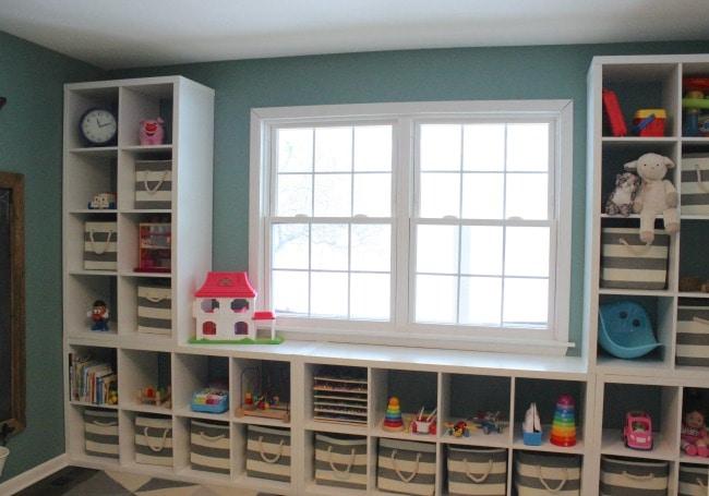 12 Oaks Blog, Playroom Organization Ideas via A Blissful Nest