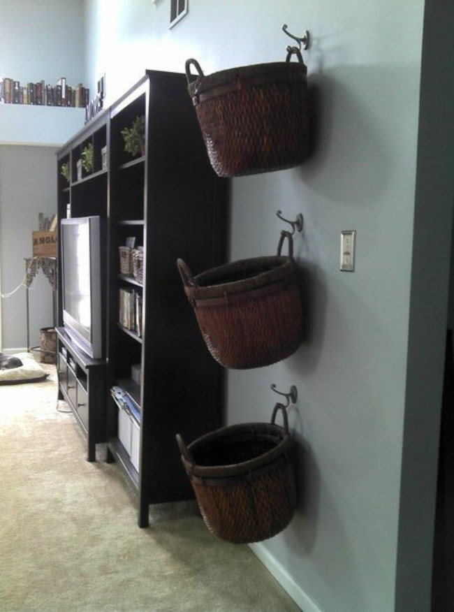 This lil House, Playroom Organization Ideas via A Blissful Nest