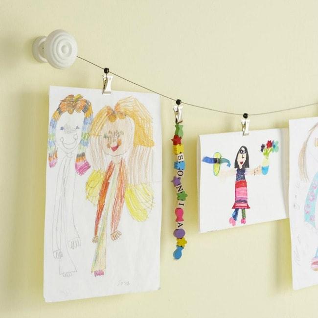 via HGTV, Playroom Organization Ideas via A Blissful Nest