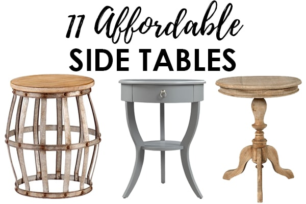 living room side table affordable tables for decorating your home in style looking a from farmhouse to