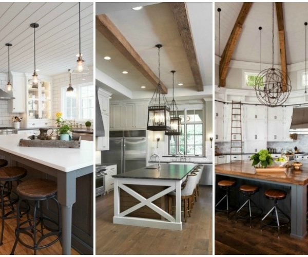 20 Modern Farmhouse Kitchen Ideas