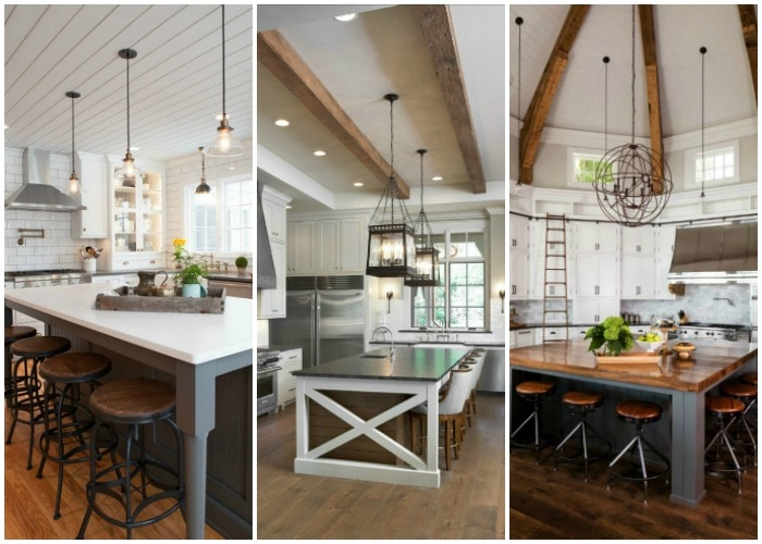 Fixer Upper Outdoor Lighting Modern Farmhouse Kitchens For Gorgeous Fixer Upper Style