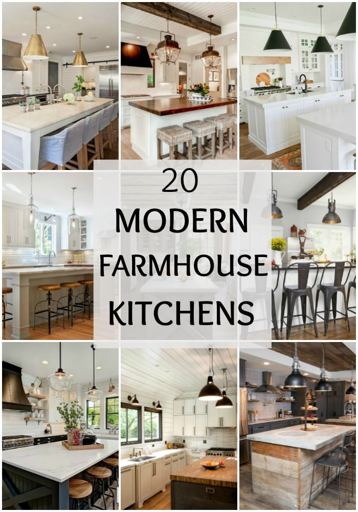 farmhouse kitchen cabinets home depot refacing modern kitchens for gorgeous fixer upper style tour these 20 to understand how the really does work well
