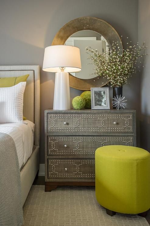 Easy tips on how to style your nightstand and create a warm vignette in any bedroom. See more go to https://ablissfulnest.com/ #bedroomdecor #designtips #decoratingideas