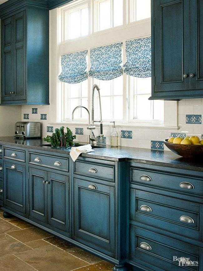15 Gorgeous Blue Kitchen Ideas  Blue Kitchen Cabinet Ideas