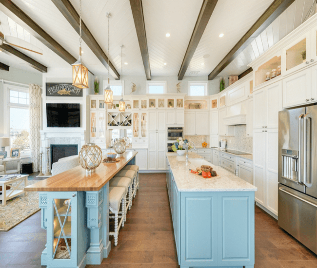 These are the most gorgeous blue kitchen ideas for any design style!