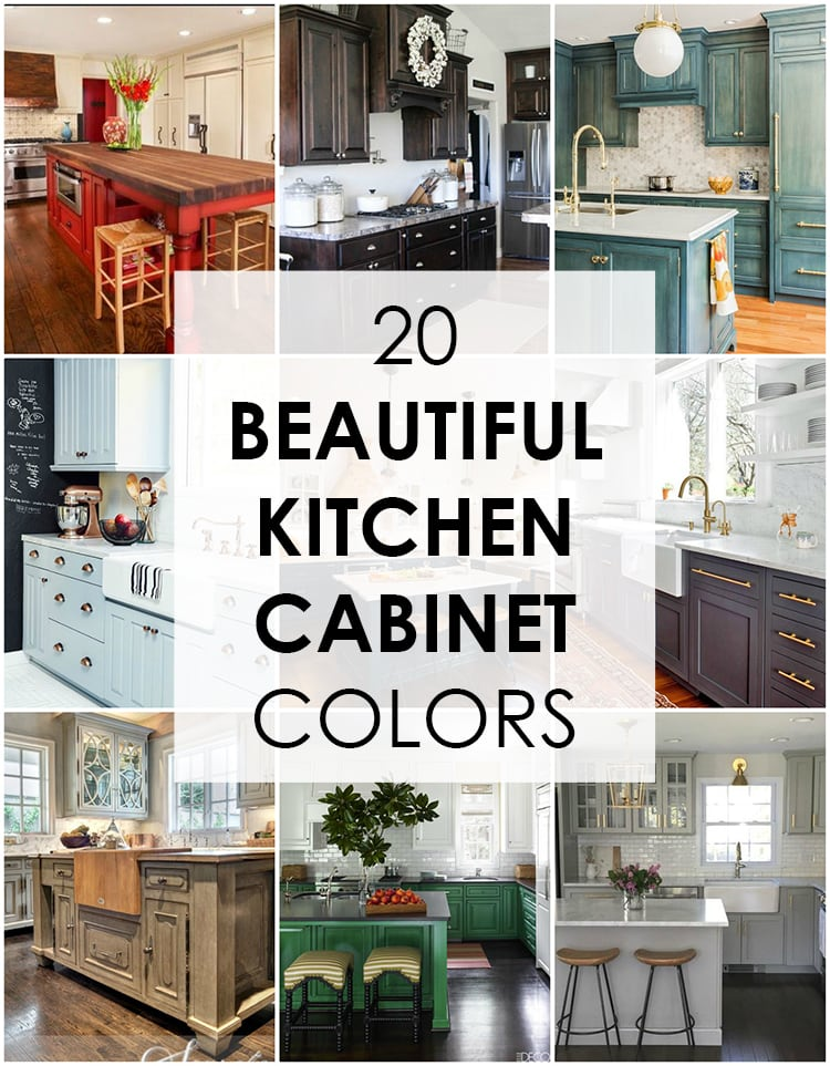 best kitchen cabinets aid trash compactor 20 beautiful cabinet colors a blissful nest these are the to choose from love all variations