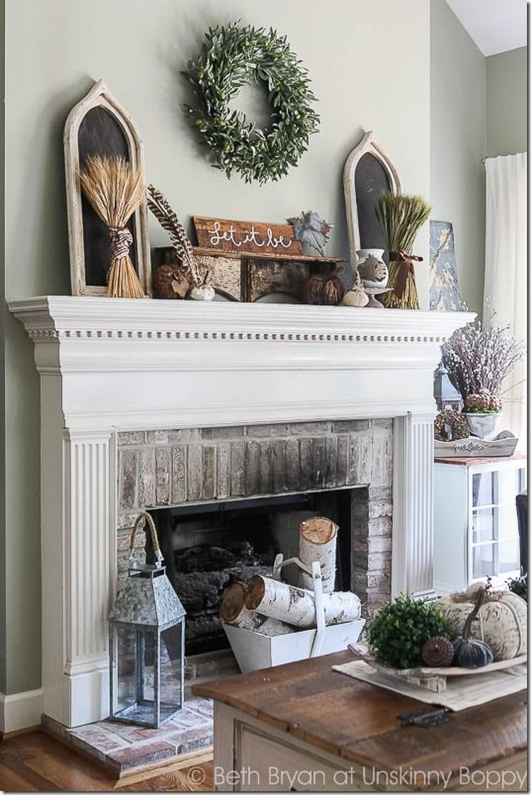 accessorize grey living room wall stickers for india how to decorate and a mantel blissful nest perfect guide on keep timeless look your