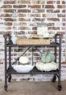Outdoor 'mores Bar Cart Fall Entertaining With Friends