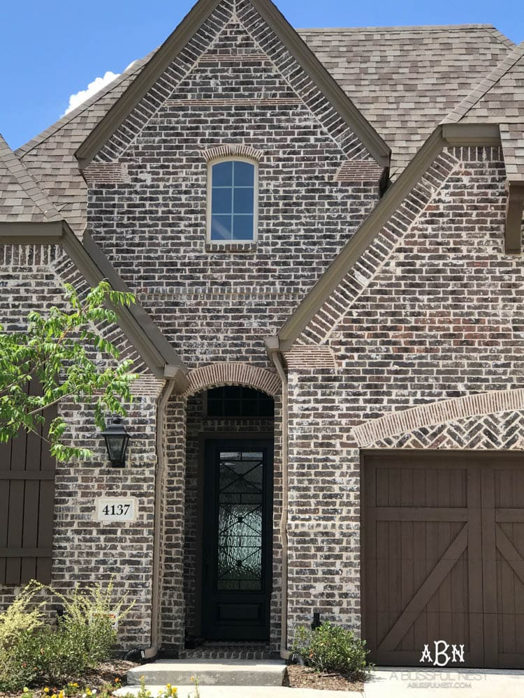 Exterior Brick Design Ideas  Ideas For Home Decor