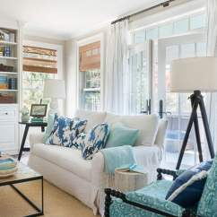 House Of Turquoise Living Room How To Design With Corner Fireplace Decorate 5 Tips A Blissful Nest Do You Love The Color But Don T Know Add It Into