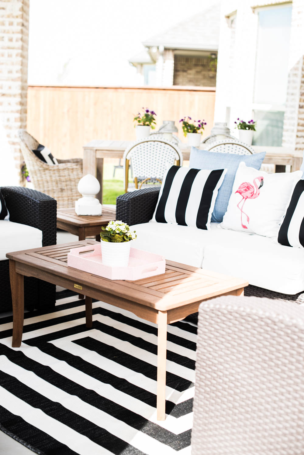 Small Backyard Patio Ideas + My Outdoor Living Space Reveal on My Garden Outdoor Living id=89271