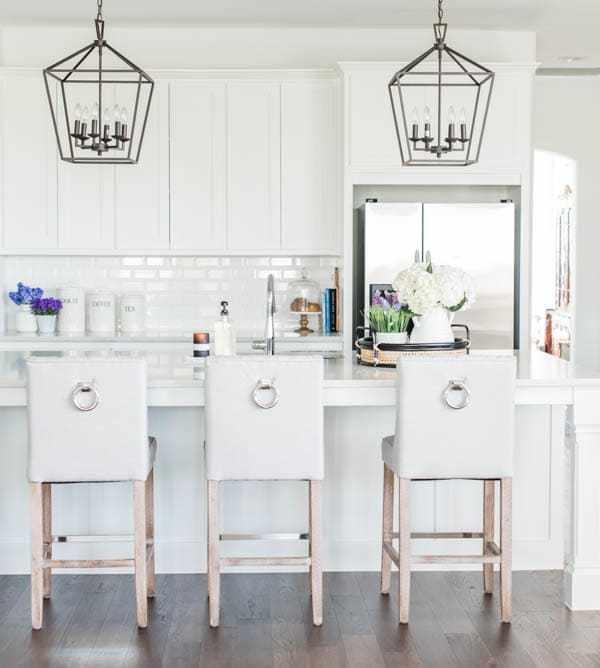 Our Coastal White Kitchen + White Kitchen Design Elements