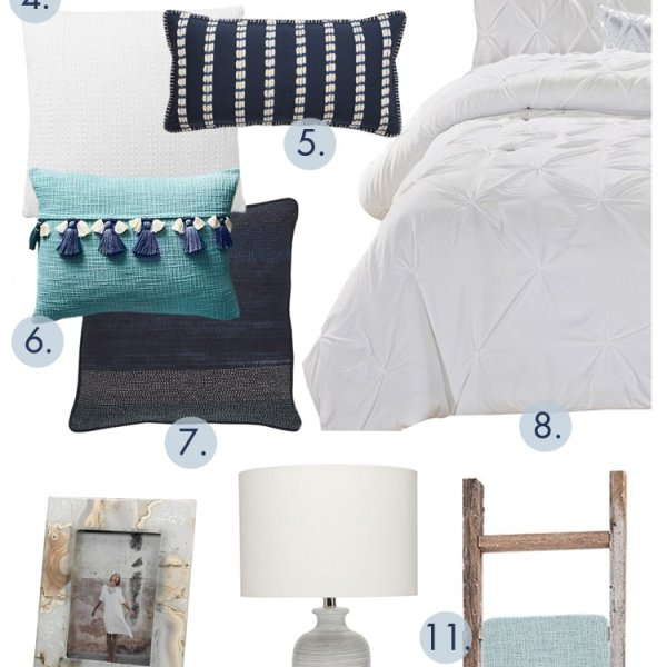 Looking to update your guest bedroom? Grab these dreamy guest bedroom ideas and create that gorgeous oasis for your friends and family. #ABlissfulNest #bedroomideas #bedroominspiration