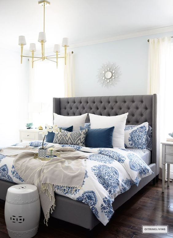 Create a dream guest bedroom with these ideas + sources. Simple and beautiful guest bedroom ideas. #guestbedroom #bedroomideas #ABlissfulNest