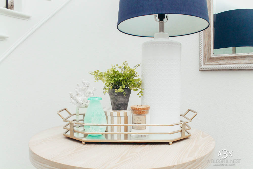 Do you have a small space in your home your are struggling with to design? Grab my tips to get big design in your small space from my favorite store At Home Stores. #ad #athomestores