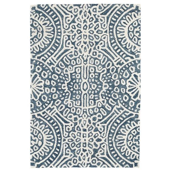 Temple Hand Hooked Area Rug