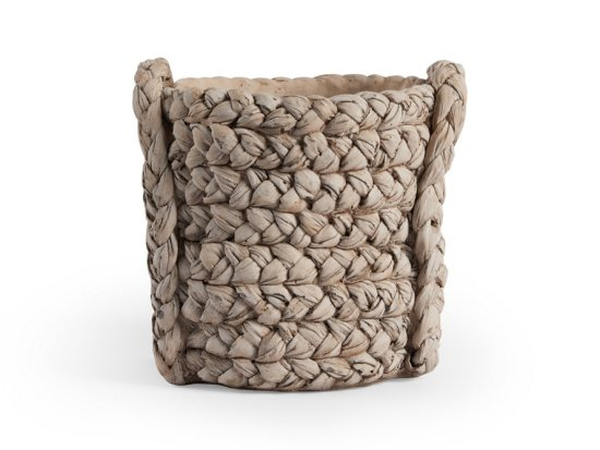 This basket is actually a planter for your patio!