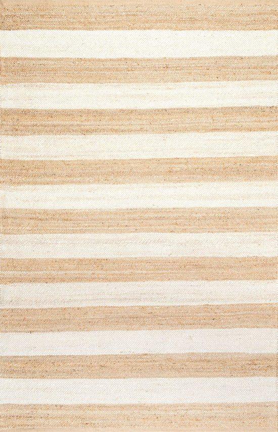 Striped Jute Runner