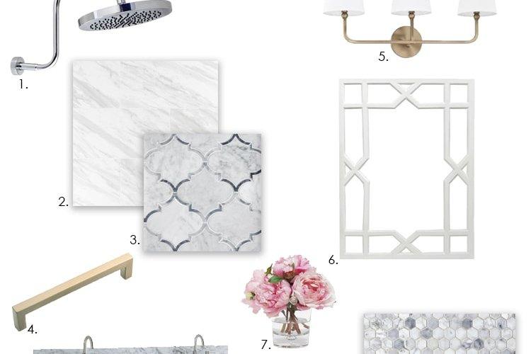 Guest Bathroom Design Plans with Floor & Decor