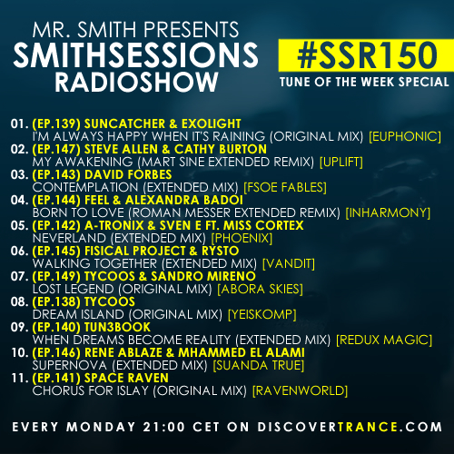 smithsessions radioshow 150