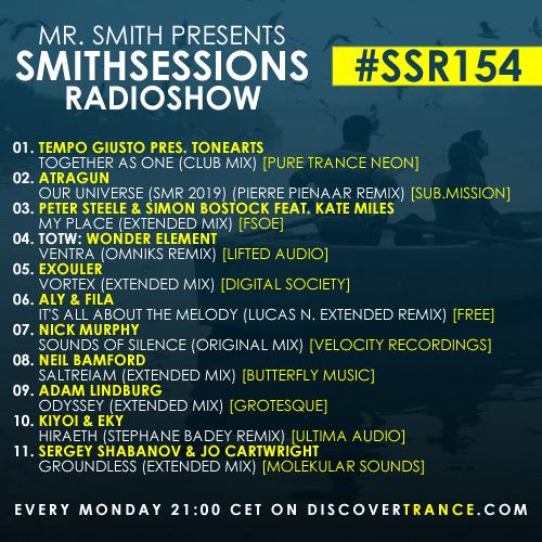 smithsessions radioshow 154