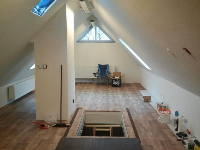 Dachbodenanlage 155m x 42m  Stummis Modellbahnforum