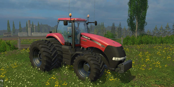 Case IH Magnum 380 Dynamic Rear Twin Wheels V1.0