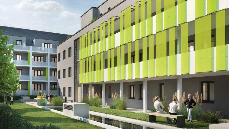 Bauprojekte Ruhrgebiet Essen  Mietwohnungen Kndgenstrae