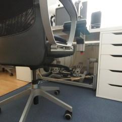 Office Chair Joystick Mount Patio Bar Chairs Desk Mounted Sim Pit Project Detachable Mousepad