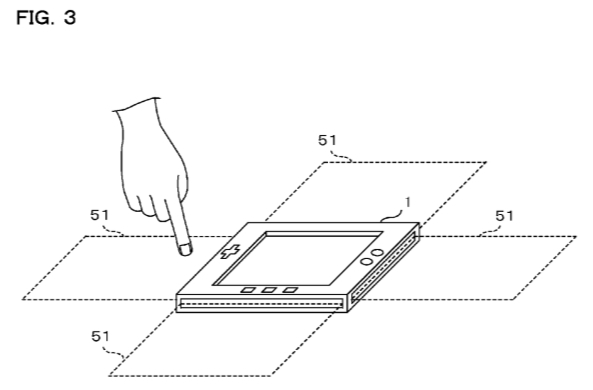 Nintendo files patent for object detection device