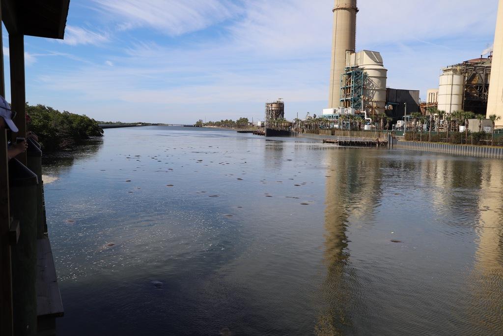 Der Kanal des Manatee Viewing Center in Apollo Beach