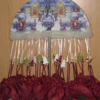 Sonstiges: Ein hängender Adventskalender