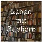 Projektbutton Leben mit Buechern kerkis-farbkleckse.de