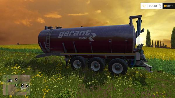 Liquid Tanker Trailer v1.0
