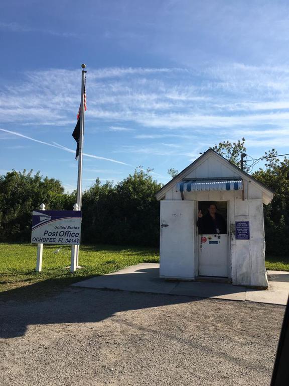 Das  kleinste Postamt der USA