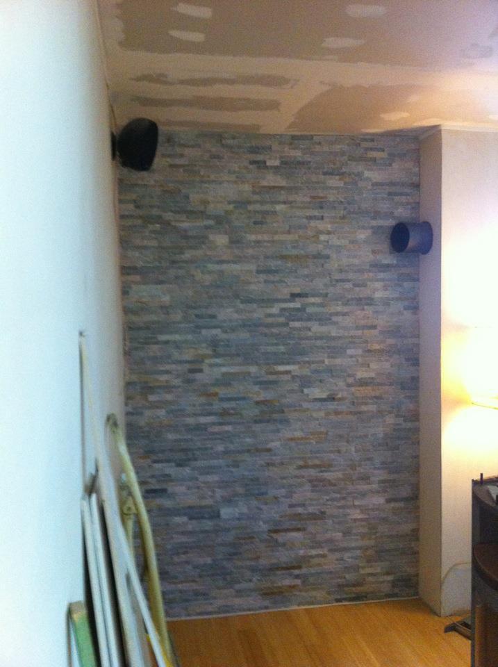 Berühmt Wandverkleidung Hinter Ofen | Die Wohnung Streichen » Darauf VK95