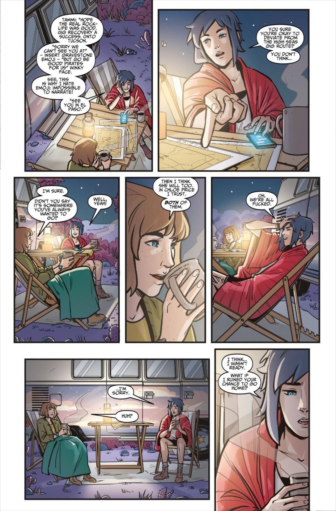 Life Is Strange Comics Scan : strange, comics, Strange:, Partners, Scans_daily